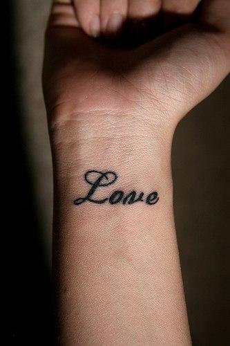 Love tattoo tattoos for One love tattoo designs