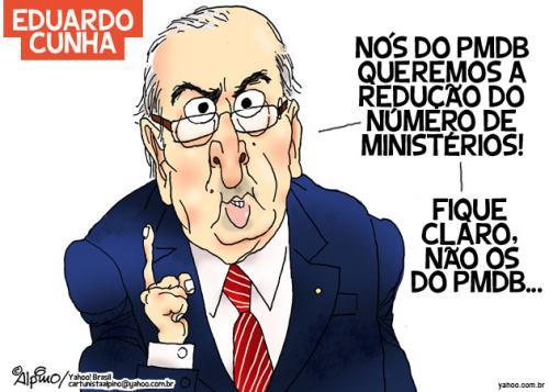 Eduardo Cunha vai estar em cadeia nacional dia 17; mais seguro seria em uma penitenciária