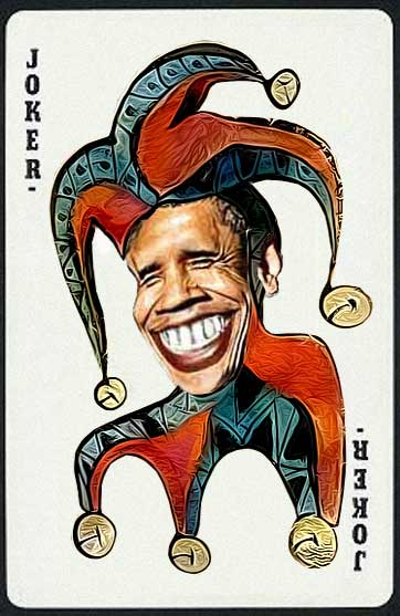 Вашингтон готовится выбирать новую «говорящую голову». Obama-joker-jester