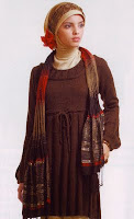 Desain Baju Muslim Baru 2012