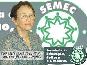 A Secretária de Educação de Altamira/PA - 2005-2010