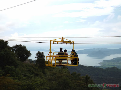 Mango Tours Tagaytay cable ride