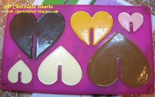 heart chocolate 3D mold