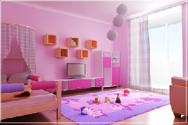 colors for childrens room design ideas - Home Color Design