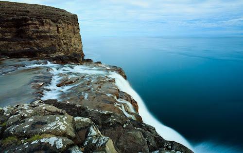 Cachoeira Bosdalafossur - Lago Leitisvatn - Ilhas Faroé