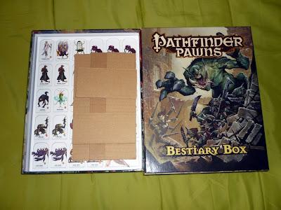 Destroquelando la Caja de Peones del Bestiario, Pathfinder
