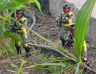 1989 Python Patrol Viper, Crazeblaze, Bronze Bombers, Olmec Toys