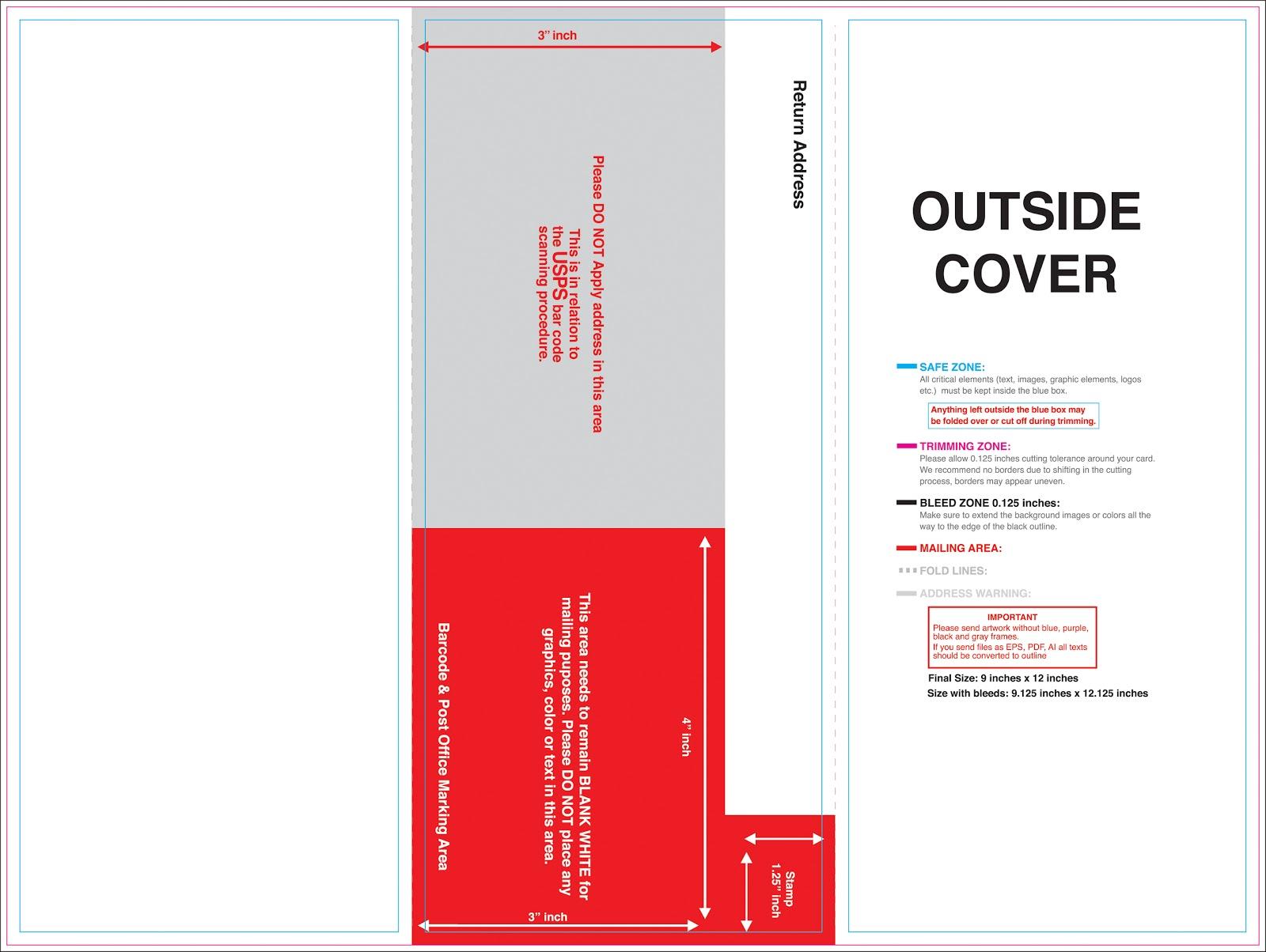 Brochure samples pics brochure mailing for Brochure mailer template
