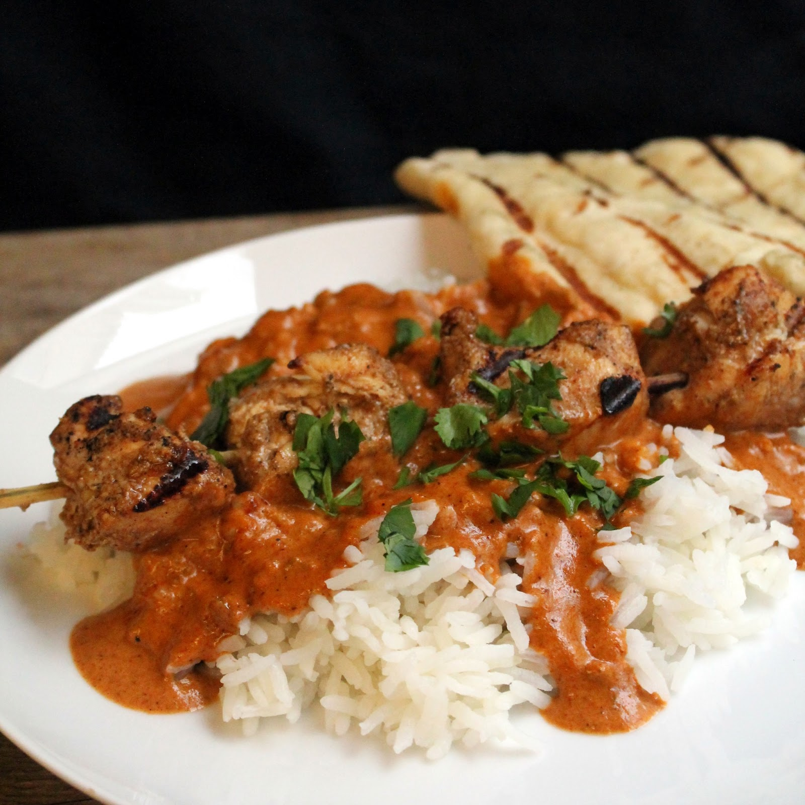 grilled chicken tikka masala