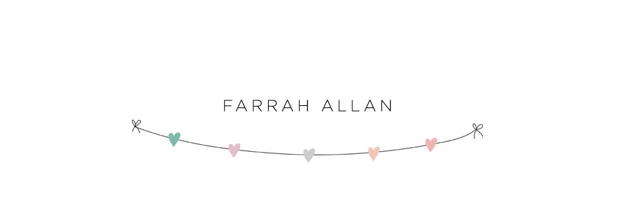 Personal blog of Farrah Allan Photography