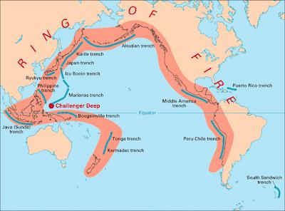 地震火環帶 日本