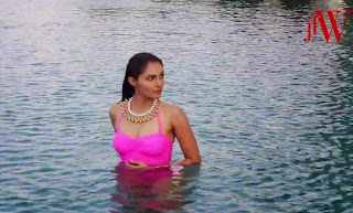 Andrea Jeremiah in Cute Bikini for JFW Magazine India Summer 2015 Must see