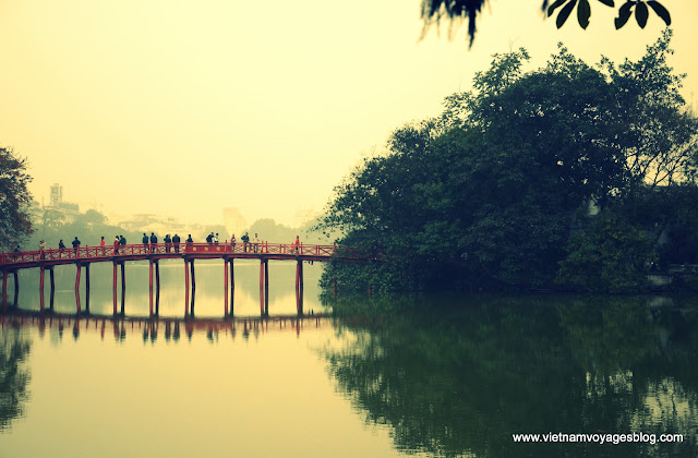 Le lac Hoan Kiem - Photo Nguyen Tu Tam