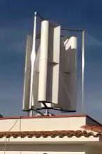 pala verticale su tetto