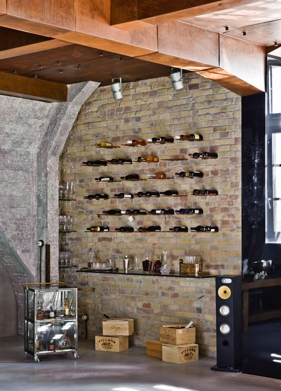 En casa de fiesta ministry of deco - Bar wall decor ideas ...