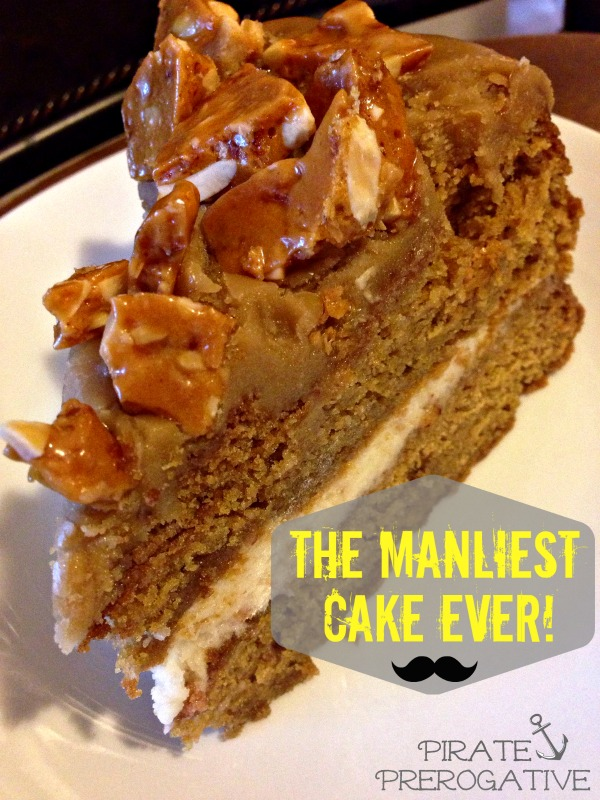 Bacon Maple Beer Cake