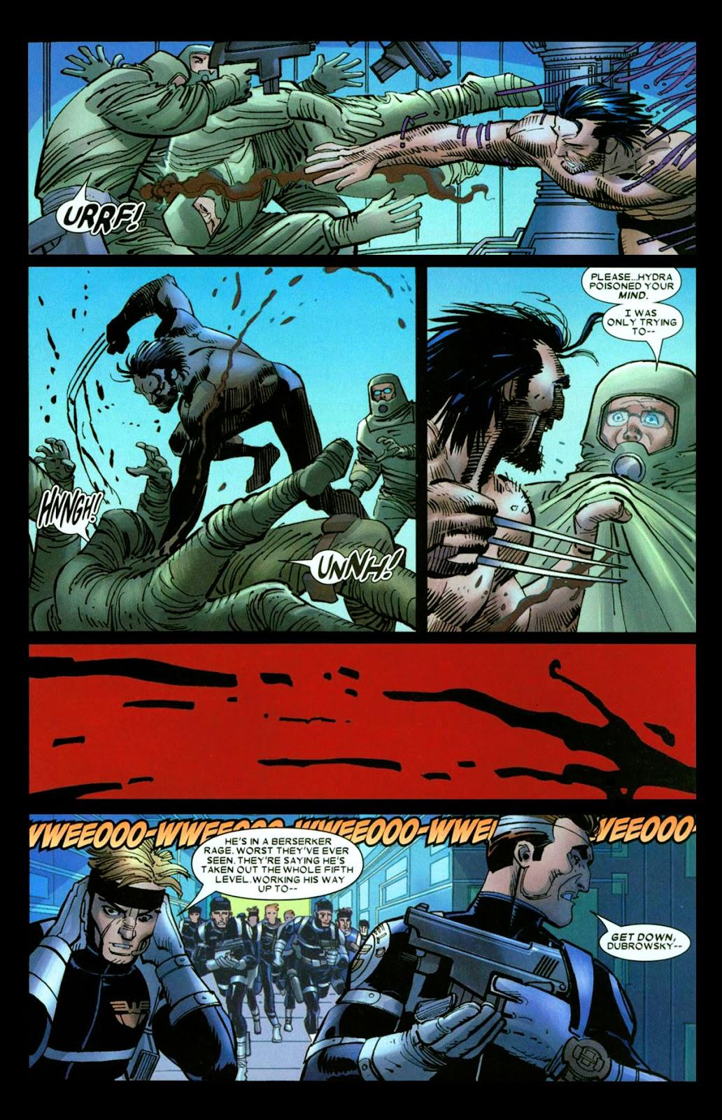 Read online Wolverine (2003) comic -  Issue #26 - 17