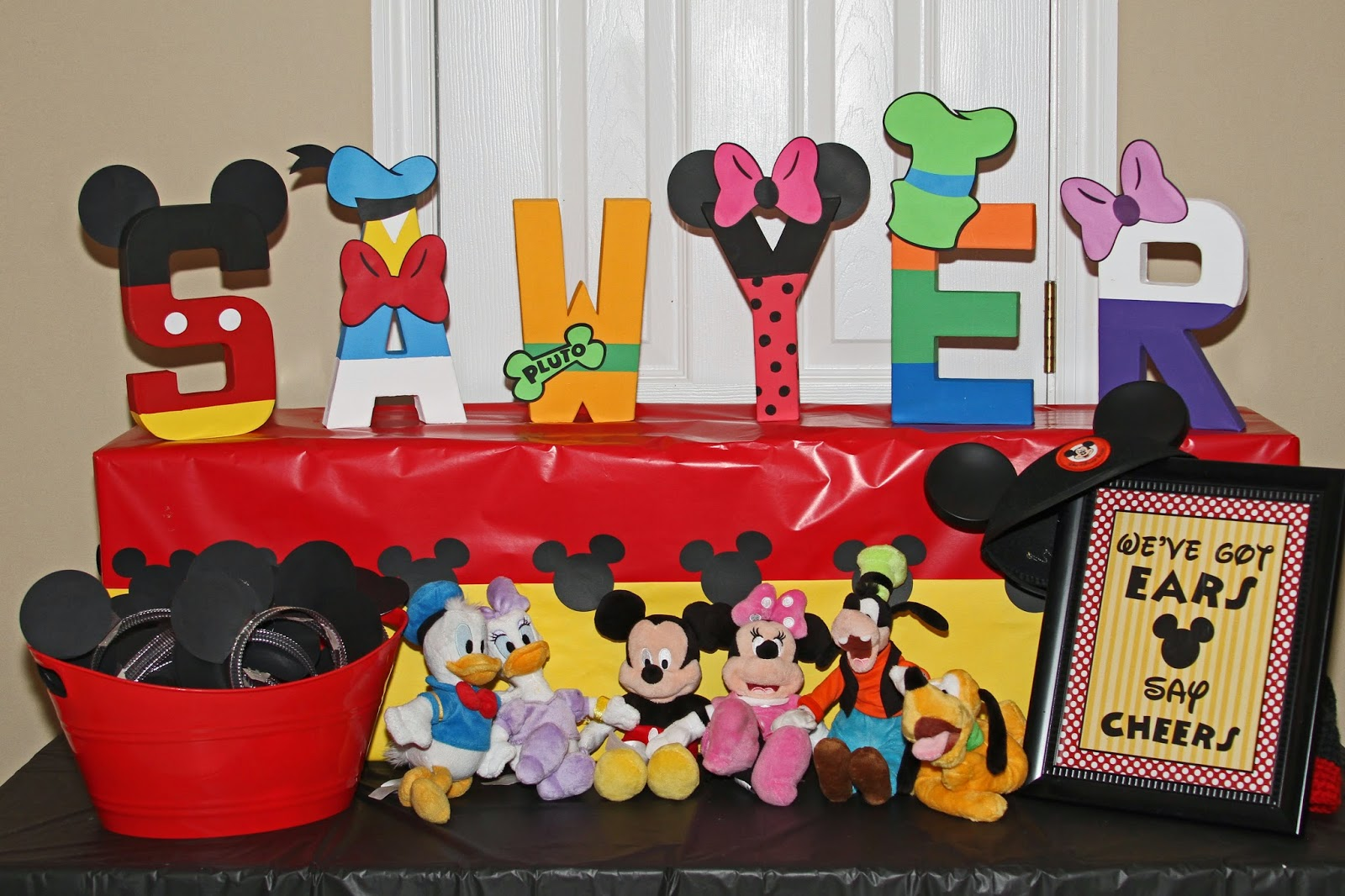 Astonishing Mickey Mouse Clubhouse Candy Table Images - Best Image ...
