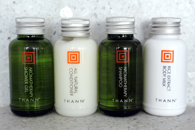 Thann toiletries at Paresa hotel, Phuket, Thailand | travel blog