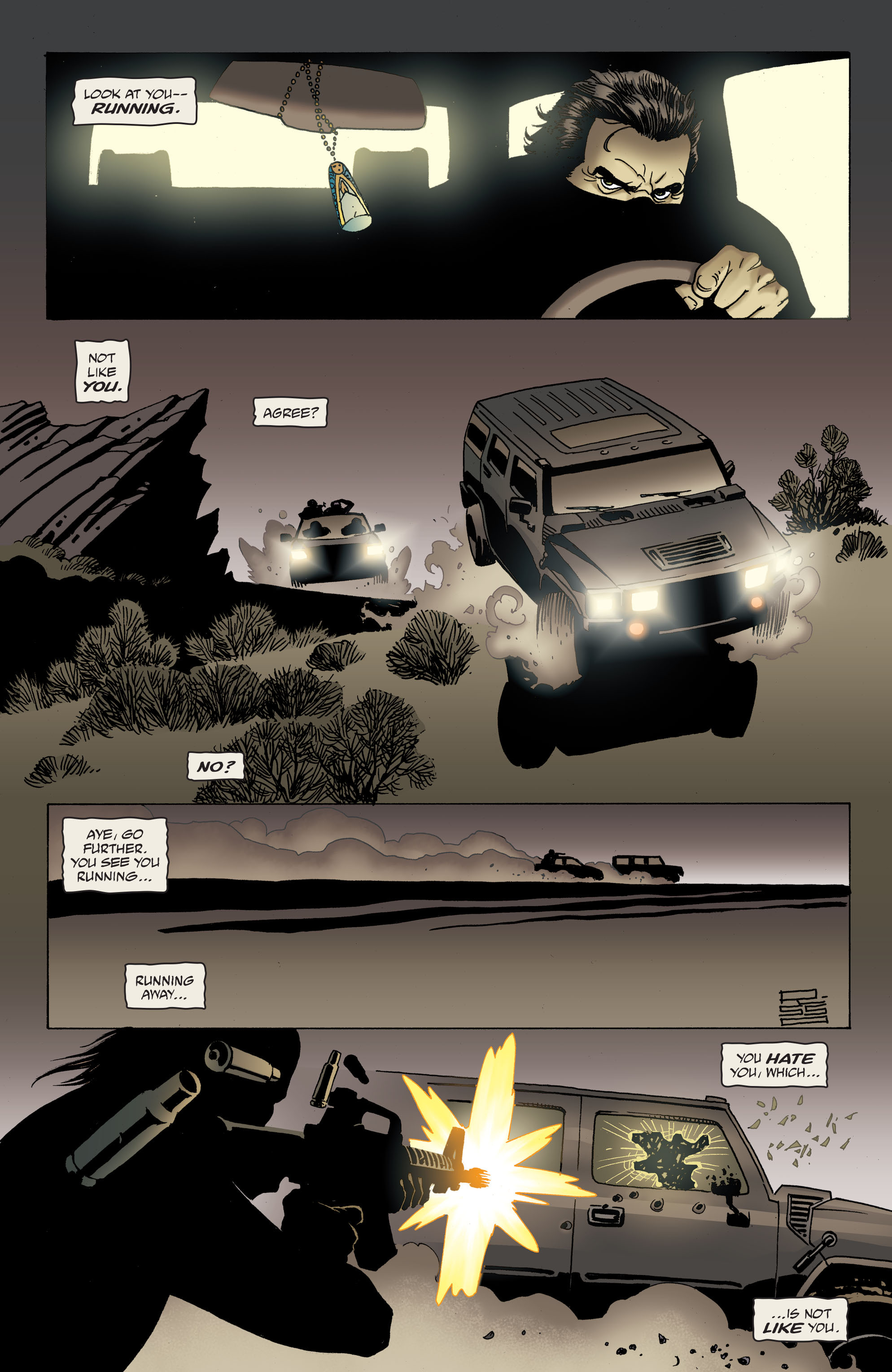 100 Bullets: Brother Lono Full Page 137