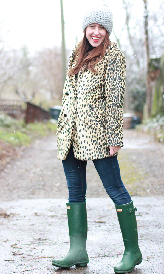 Here & Now leopard coat