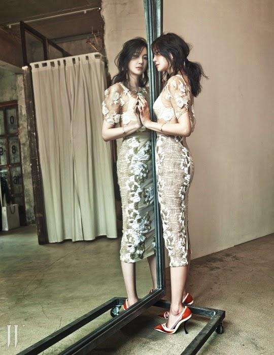 Lee Ji Ah - W Magazine May Issue 2014