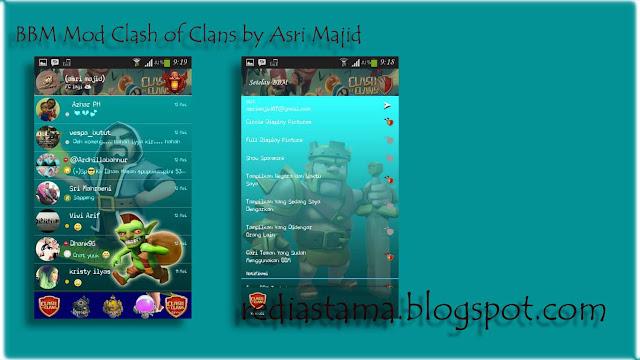 BBM Theme Clash of Clans