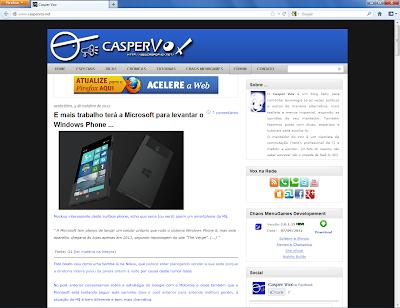 Firefox 17.0b1 no Windows 7