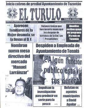 """PORTADA DE """"EL TURULO"""""""