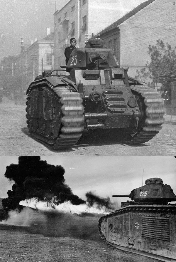 Тяжелый огнеметный танк B-2 (f)