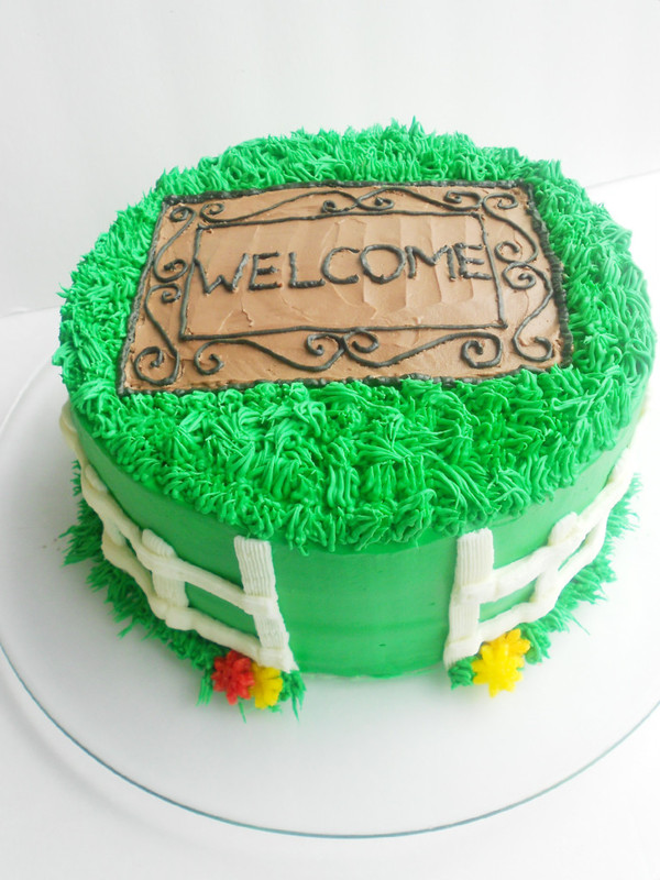 Cake Designs For Housewarming : Housewarming Cake - Confessions of a Confectionista
