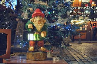 Krasnal zaprasza na wrocławskiego bożonarodzeniowego grzańca