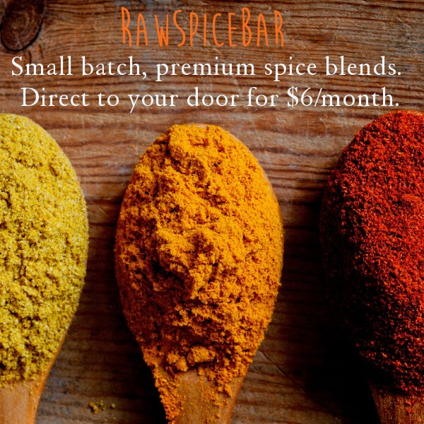 Need a last minute gift for your favorite foodie or home cook? Order a RawSpiceBar monthly subscription box!
