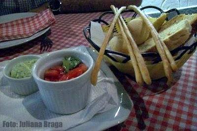 Ristorante La Figa: Pão com Patê