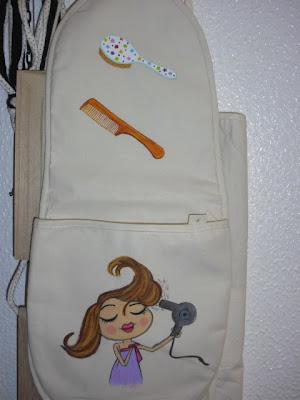 Bolsa para guardar o secador e as escovas