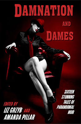 damnation  dames   ed grzyb  pillar web Damnation and Dames launching at Swancon this Friday