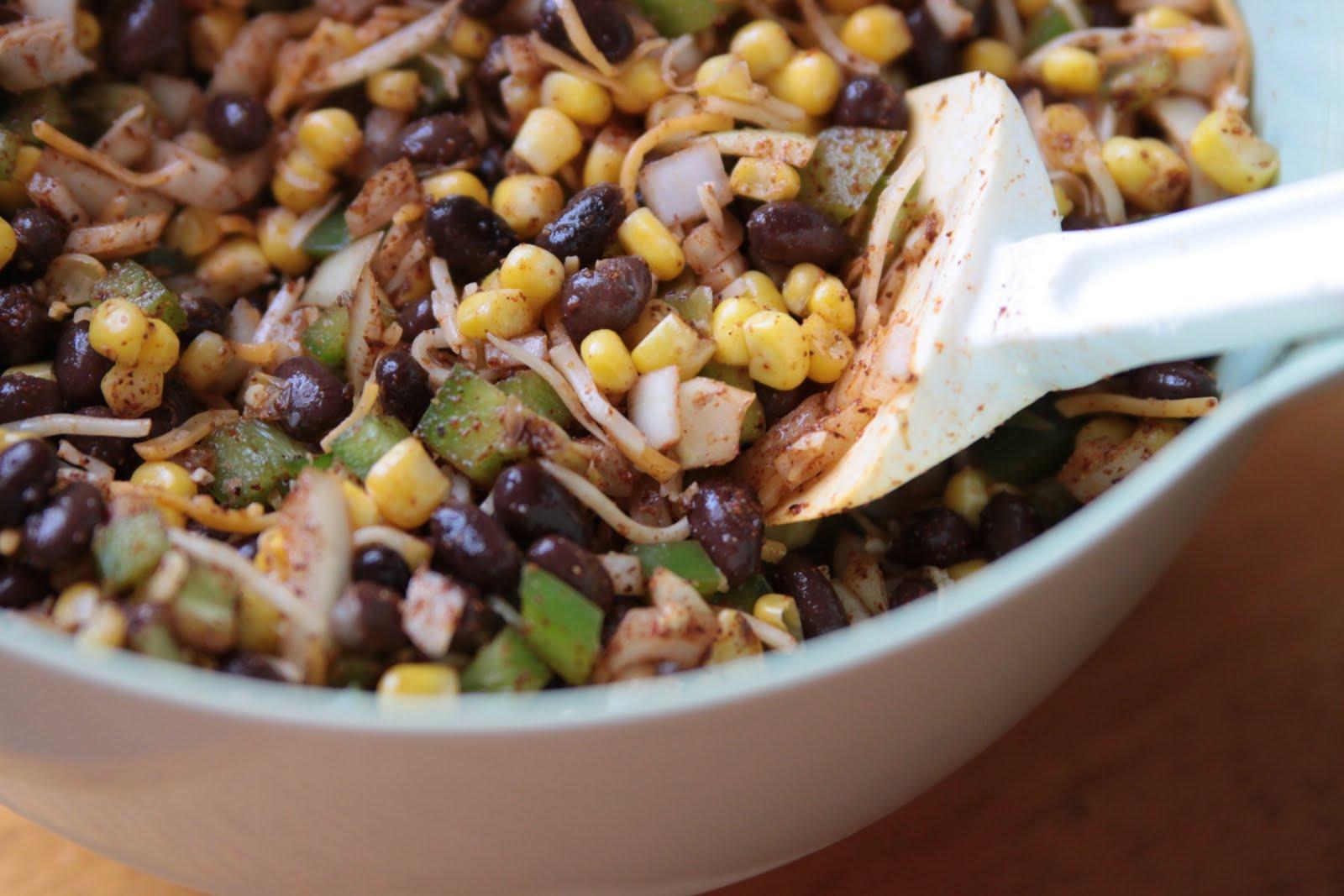 messily ever after: recipe: slow cooker black bean enchiladas