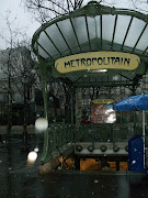 Paris MetroArt Nouveau. These examples of the Metro in Paris take . (paris metro)