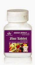 Zinc Tablet dari Green World