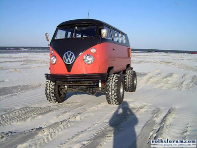 Monster VW Combi Modifikasi