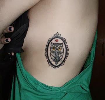 Mulheres tatuadas com coruja - Fotos
