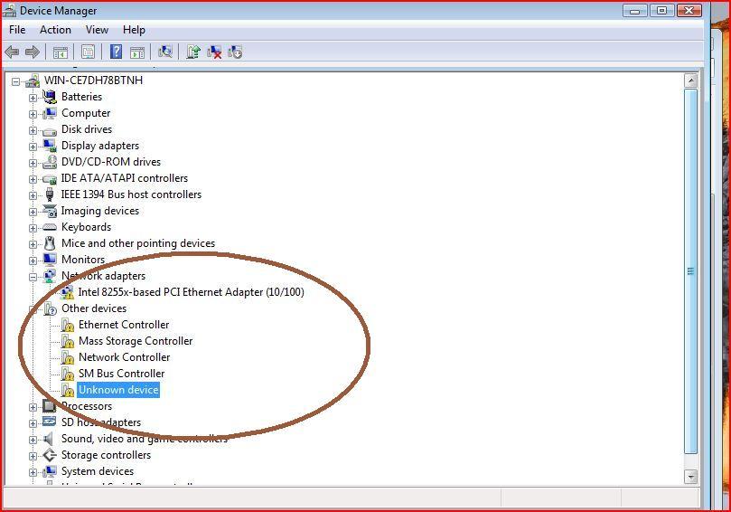 Драйвера для windows 7 для сетевого адаптера для windows 7