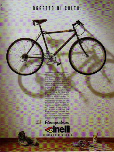 Cinelli only 1990 cinelli rampichino advertisement for Rampichino cinelli