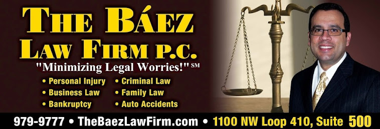 The Baez Law Firm | San Antonio Lawyers and Attorneys