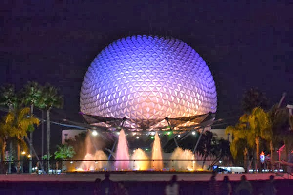 Spaceship Earth at EPCOT