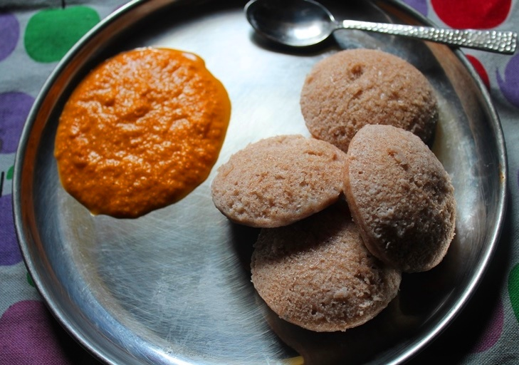Soft Ragi Idli Recipe / Finger Millet Idli Recipe