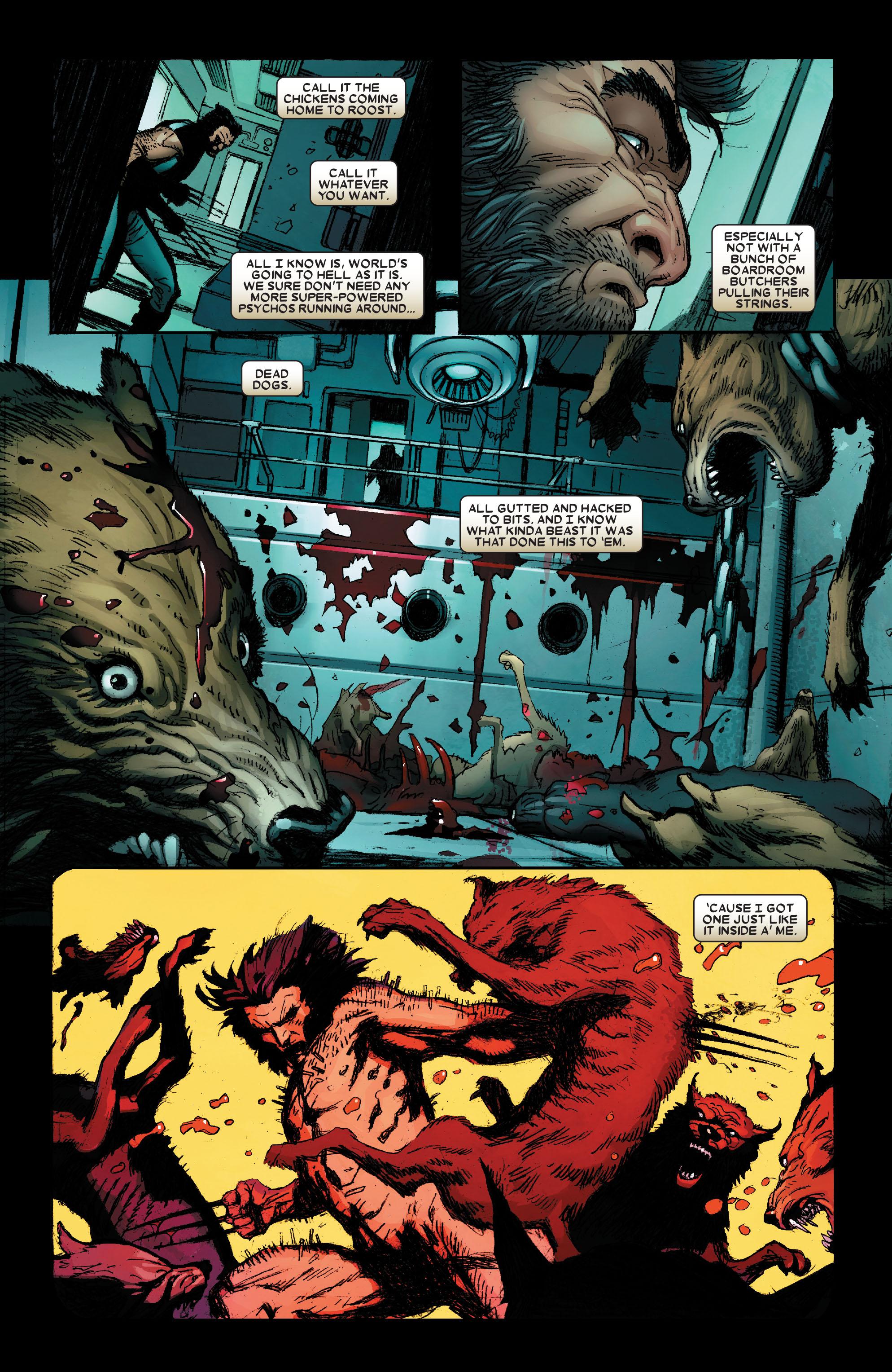 Wolverine: Weapon X #1 #16 - English 22