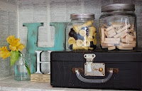 decoración con maletas