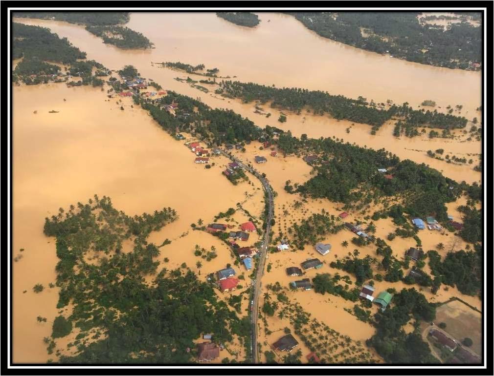 Misi bantuan Bencana Banjir 3hb Januari 2015.