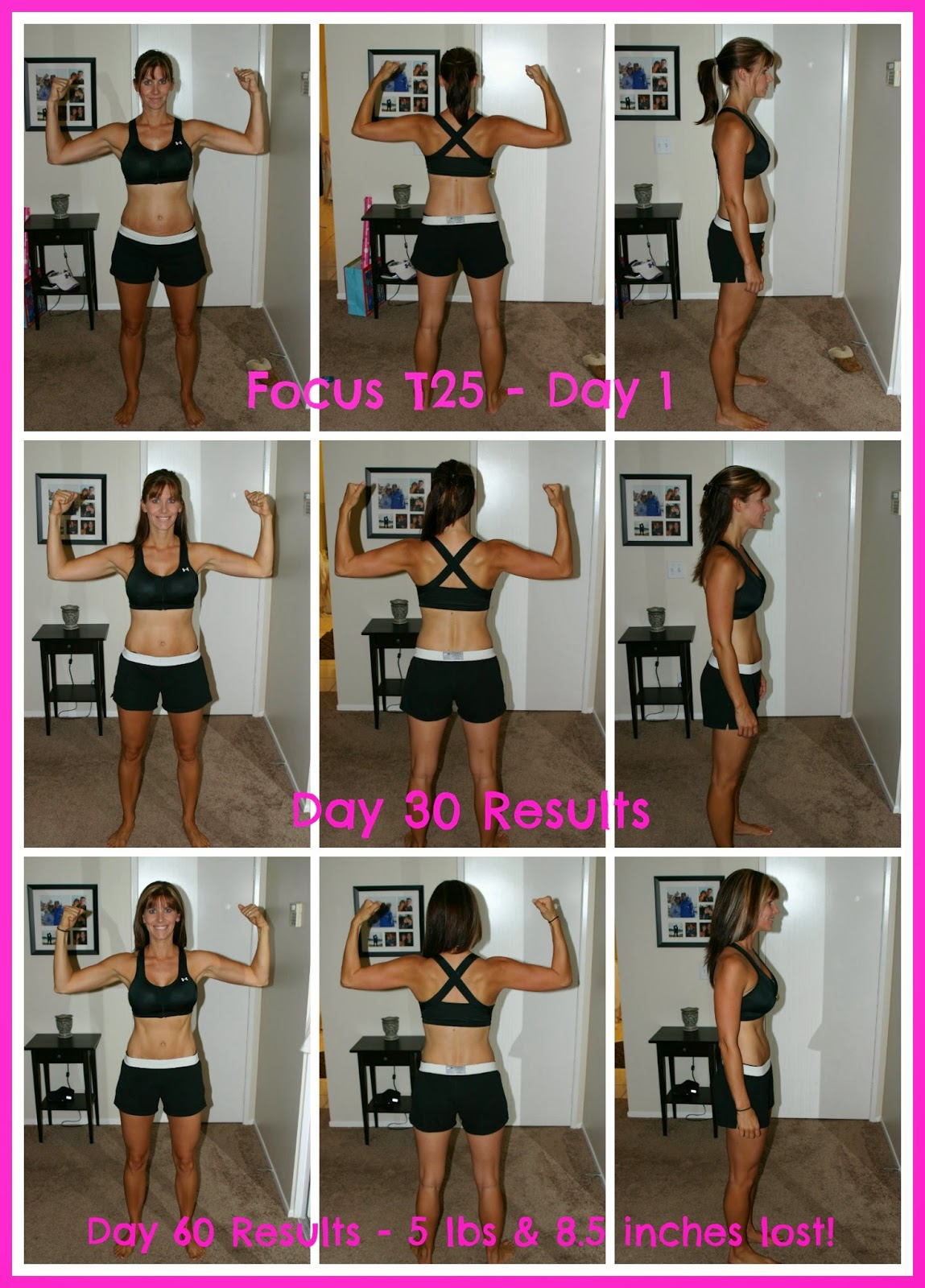 T25 Transformation, summer slim down